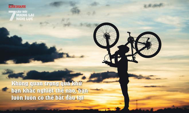 <p> Không quan trọng quá khứ bạn khắc nghiệt thế nào, bạn luôn luôn có thể bắt đầu lại</p>