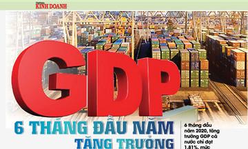 GDP 6 tháng đầu năm tăng trưởng 1,81%, thấp nhất trong 10 năm trở lại đây