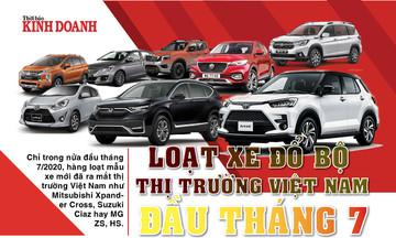 Loạt xế hộp đổ bộ thị trường Việt Nam đầu tháng 7