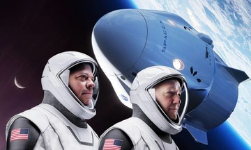 24 bức ảnh làm nên lịch sử du hành không gian