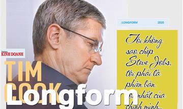 Tim Cook và hành trình 10 năm thay đổi 'gã khổng lồ' Apple