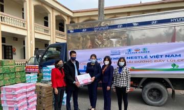 Nestlé Việt Nam sát cánh cùng tuyến đầu phòng chống dịch COVID - 19