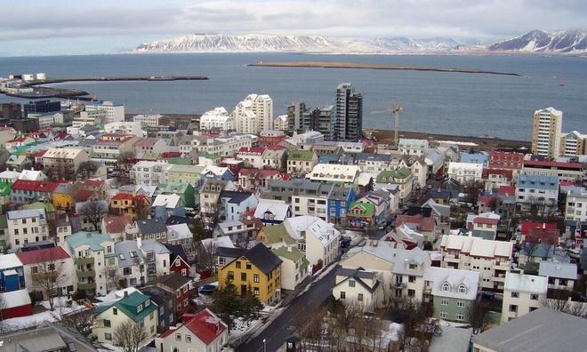 <p> <strong>4. Iceland - 7,55</strong><br /><br /><em>Reykjavik, thủ đô của Iceland.</em></p>