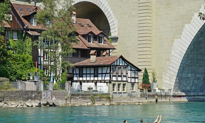 <p> <strong>3. Thụy Sĩ - 7,57</strong><br /><br /><em>Bern, thủ đô của Thụy Sĩ.</em></p>