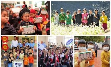 Vinamilk và Quỹ sữa vươn cao Việt Nam khởi động chiến dịch 'Triệu ly sữa yêu thương, triệu nụ cười hạnh phúc'