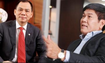 Khối tài sản 'khủng' của ông Phạm Nhật Vượng vượt 193 nghìn tỷ đồng, ông Trần Đình Long có gần 42 nghìn tỷ đồng