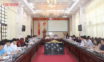 Liên minh HTX Việt Nam làm việc với UBND tỉnh Ninh Bình