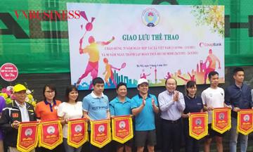 Giao lưu thể thao chào mừng 75 năm ngày HTX Việt Nam