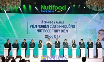 Ra mắt Viện Nghiên cứu dinh dưỡng Nutifood Thụy Điển