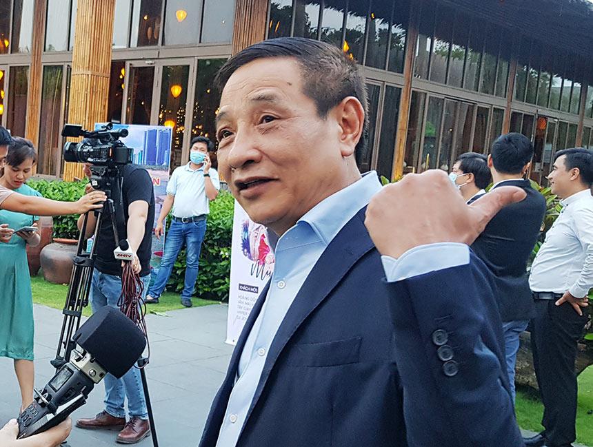 """Ông Nguyễn Đức Thành, Chủ tịch Tập đoàn Empire, chủ đầu tư Nam An Retreat và Cocobay cho biết dịp lễ 30/4 sắp tới, Nam An Retreat đã """"full phòng"""""""