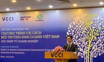 VCCI: Tốc độ cải thiện môi trường kinh doanh đang chậm lại