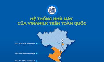"""Hệ thống """"khủng"""" 13 nhà máy là nội lực giúp Vinamilk duy trì vị trí dẫn đầu thị trường sữa nhiều năm liền"""