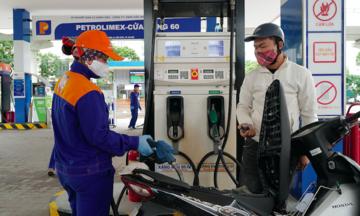 Giá xăng dầu tăng từ 180 - 566 đồng/lít