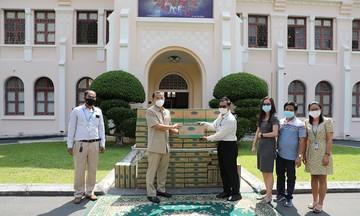 Angkormilk trao tặng 48.000 sản phẩm sữa hỗ trợ người dân 'vùng đỏ' trong dịch Covid-19 tại Campuchia