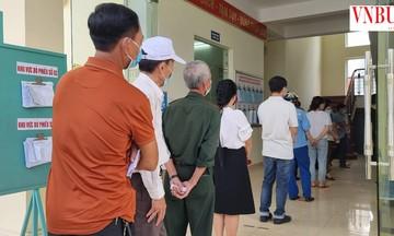 1,5 triệu cử tri TP Hải Phòng hân hoan đi bầu cử