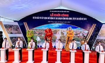 Hải Phòng đầu tư gần 567 tỷ đồng mở rộng đường 363, kết nối quận Dương Kinh với huyện Kiến Thụy