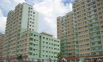 'Đỏ mắt' tìm căn hộ hạng C