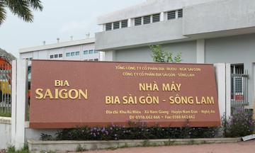Bia Sài Gòn – Sông Lam bị phạt và truy thu thuế 1,13 tỷ đồng