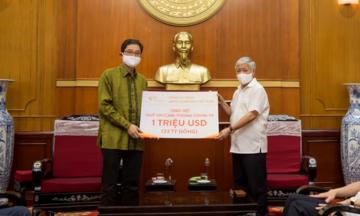 Japfa Việt Nam ủng hộ 1 triệu USD vào Quỹ vaccine phòng chống Covid-19
