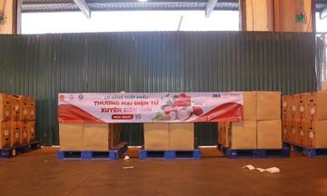Hơn 3 tấn vải thiều Bắc Giang đạt chuẩn GlobalGAP được xuất khẩu sang Đức
