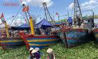 Nhộn nhịp cảng cá Tân Sơn