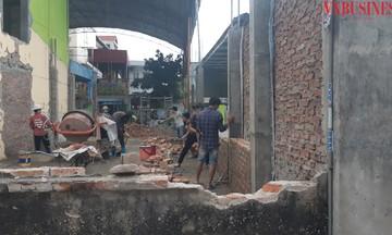 Hải Phòng: Trường mầm non An Đồng 2 thi công trước khi tổ chức đấu thầu