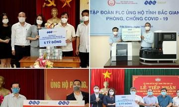 FLC tặng xe cứu thương cho Sầm Sơn sau khi chi viện hơn 150 tỷ phòng chống dịch bệnh, thiên tai tại nhiều tỉnh