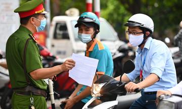 Phản hồi mới nhất của TP Hà Nội về Giấy đi đường