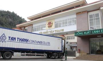Cửa khẩu Tân Thanh - Pò Chài thông quan trở lại