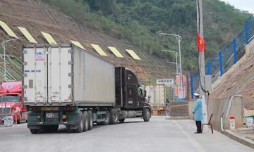 Trung Quốc dừng thông quan tại cửa khẩu Lũng Vài, Bộ Công Thương nói gì?