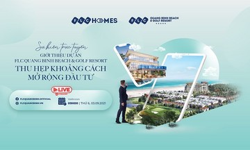 Talkshow giới thiệu đại dự án FLC Quảng Bình: Sự kiện BĐS trực tuyến nổi bật sắp diễn ra đầu tháng 9