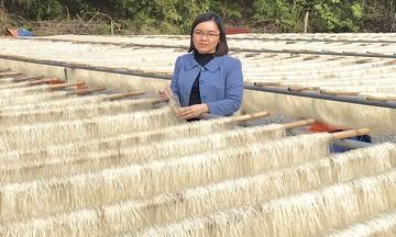 HTX Huấn Liên 'nâng tầm' chuỗi giá trị dong riềng Côn Minh