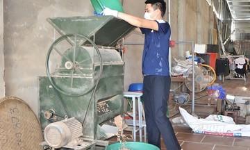 Chế biến dầu lạc theo chuỗi giá trị ở HTX Quang Hà