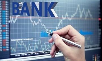 Sắc xanh bao trùm hầu hết nhóm cổ phiếu ngân hàng