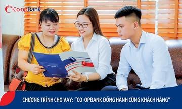 """""""Co-opBank đồng hành cùng khách hàng"""""""